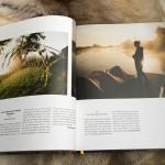 Die eindrucksvollen Aufnahmen sind großformatig kombiniert und werden in kurzen Texten kommentiert.