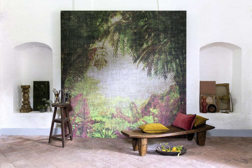 """Tapete """"Jungle fever"""", Élitis. Kunst im Alltag"""