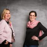 Britta Sopp und Tina Bungeroth von KUNSTschön (Foto: Inga Steeg)