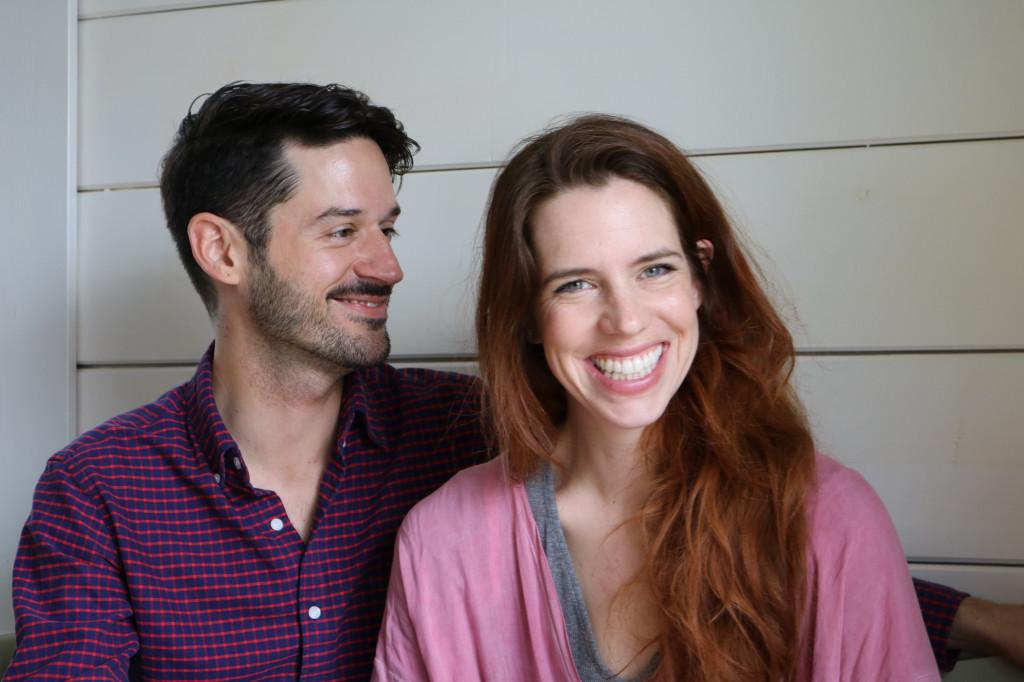 Die beiden Labelgründer von SIN DUDA… Lena van den Hoven und Daniel Gutierrez