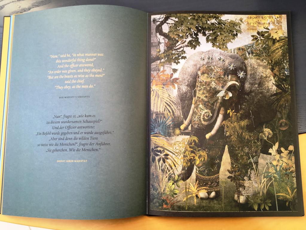 Elefant Hathi Dschungelbücher