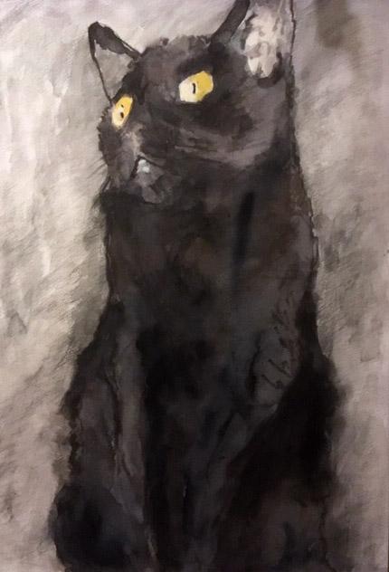 Anke Gruss Schwarze Katze