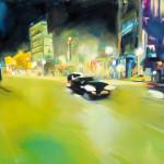 Anke Gruss Faszination Licht Stadtbild grelles Kunstlichter