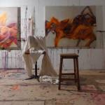 Große Ölbilder Atelier Tania Strickrodt