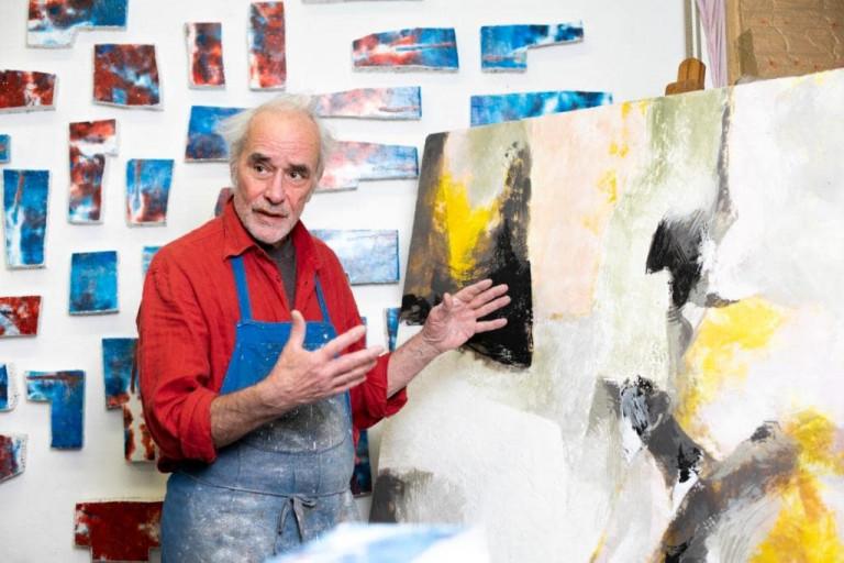 Bernd Brach, Inspiration Wachsmalerei