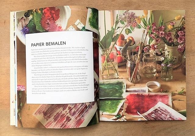Paper Pictures Papier bemalen