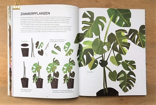 Paper Pictures Monstera