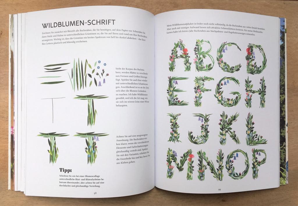Paper Pictures Wildblumen-Schrift