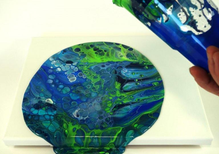 Acrylic Pouring Budde-Engelke Cup Flip 10