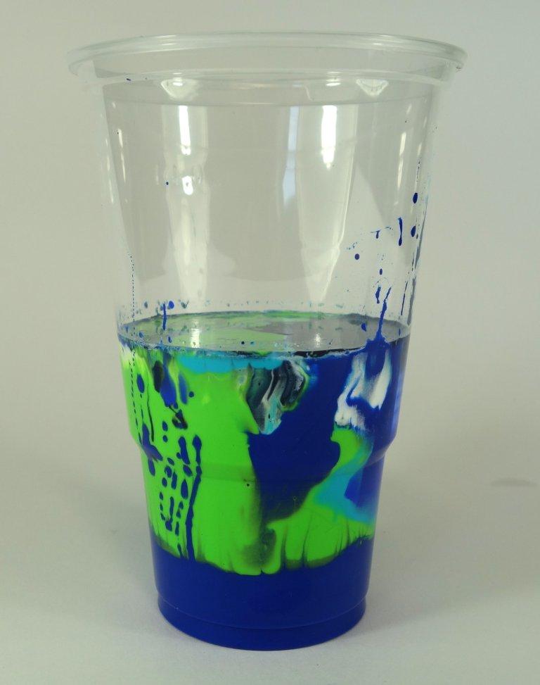 Acrylic Pouring Budde-Engelke Cup Flip 7