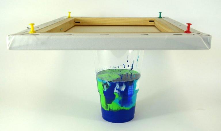 Acrylic Pouring Budde-Engelke Cup Flip 8