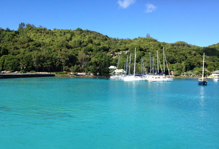 Die Farben des Sommers: Karibikblau
