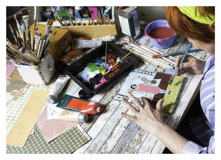 Martina Haussmann, Atelier