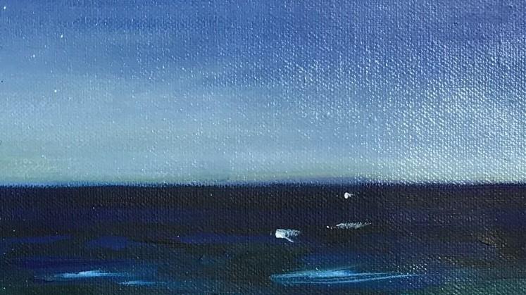Sonja Neumann, Strandwelle Himmel