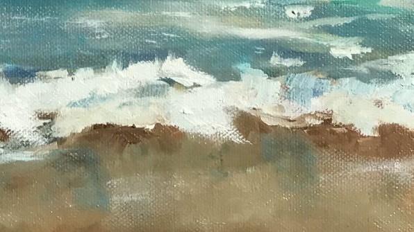 Sonja Neumann Strandwelle, Sand