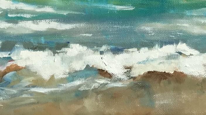 Sonja Neumann, Strandwelle kleine Welle