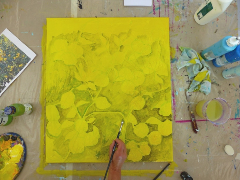 Ruth Alice Kosnick, Zitronenbaum, Schritt 1