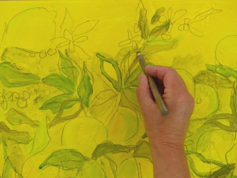 Ruth Alice Kosnick, Zitronenbaum, Schritt 2
