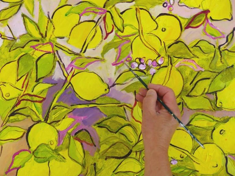 Ruth Alice Kosnick, Zitronenbaum, Schritt 4