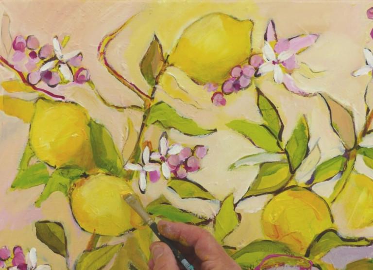 Ruth Alice Kosnick, Zitronenbaum, Schritt 8