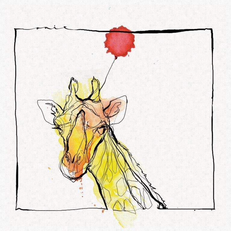 Gris Giraffe