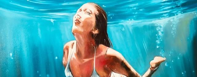 Sonja Neumann Daily Painting Unter Wasser Ausschnitt