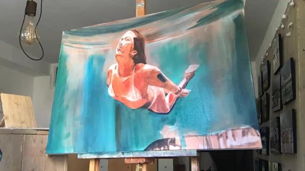 Sonja Neumann Unter Wasser