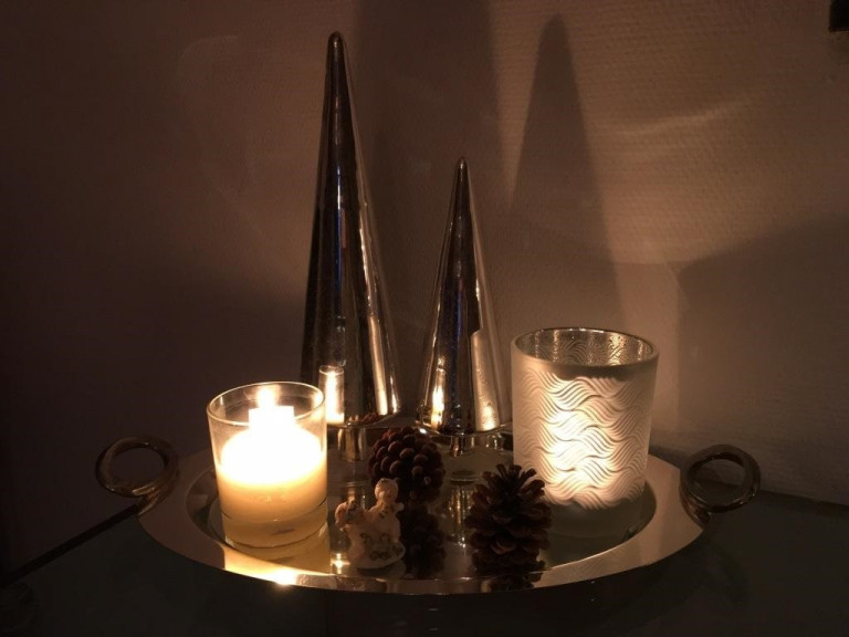 Advent Kerzenarrangement