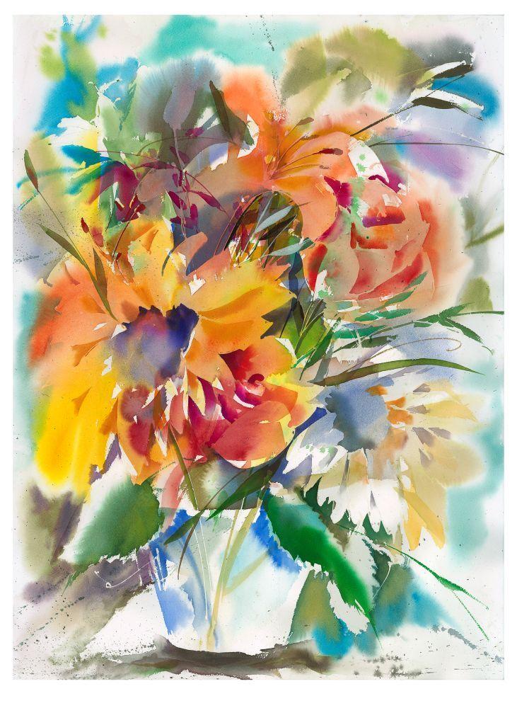 Werner Maier, Blumen