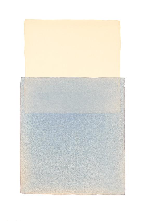 Werner Maier Farbflächen Blau Beige
