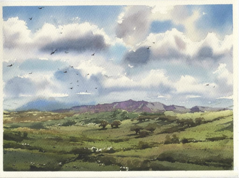 Werner Maier, Weite Landschaft