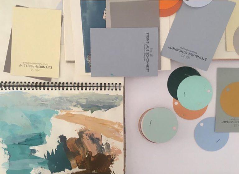 Farbkarten zur Farbkonzeption