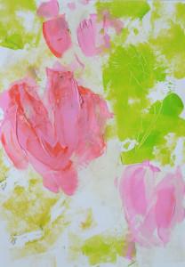 Malanleitung Biber, Tulpen 2a