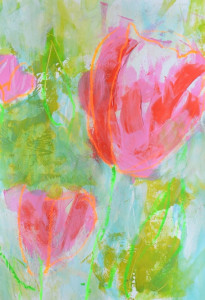 Malanleitung Biber, Tulpen 3b