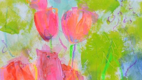 Malanleitung Biber, Tulpen 4a Beitragsbild