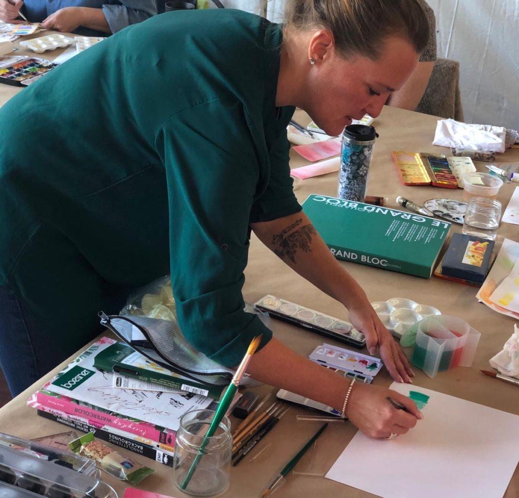 Nina Rötters Boesner-Workshop