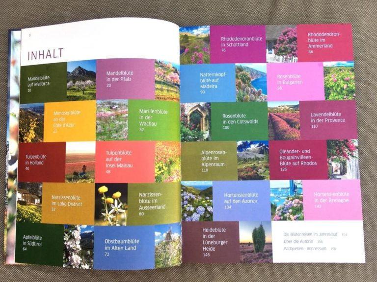 Blütenreise Inhaltsverzeichnis