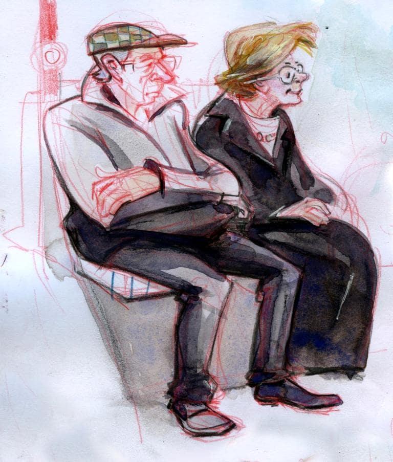 Nicola Maier-Reimer, Paerchen im Bus