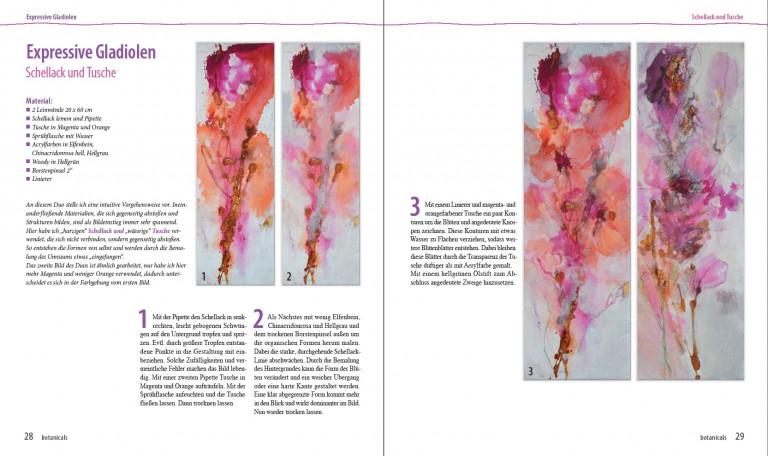 Angelika Biber Botanicals S 28 29 Gladiolen