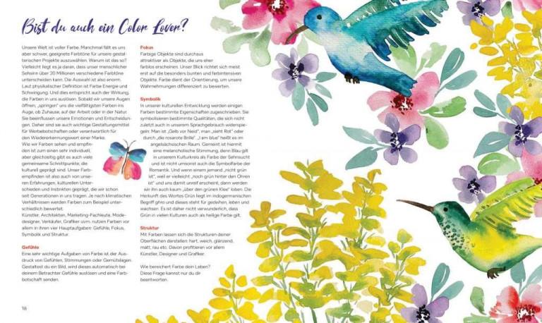 Christin Stapff, Farben! Buchseite 18 19