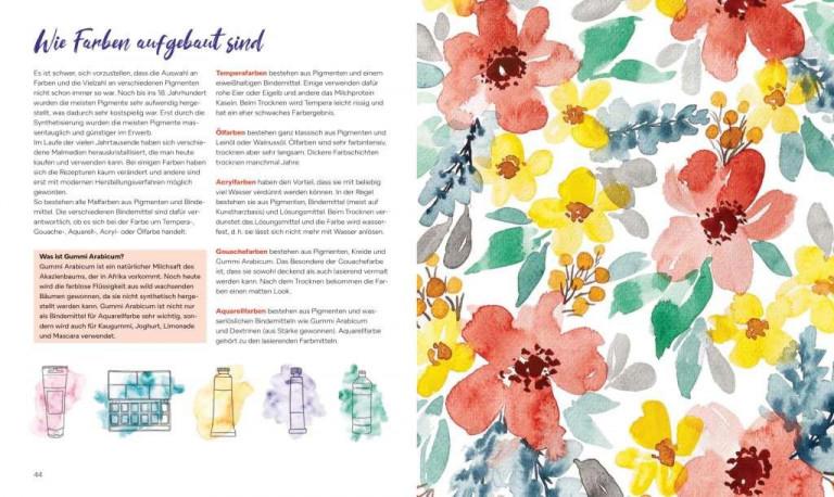 Christin Stapff, Farben! Buchseite 44 45