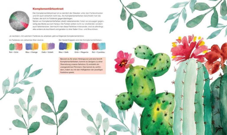 Christin Stapff, Farben! Buchseite 66 67