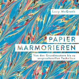 Haupt Verlag, Lucy McGrath, Cover Papier marmorieren