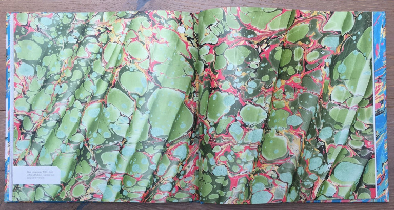 Haupt Verlag, Lucy McGrath, Papier marmorieren S. 116 117