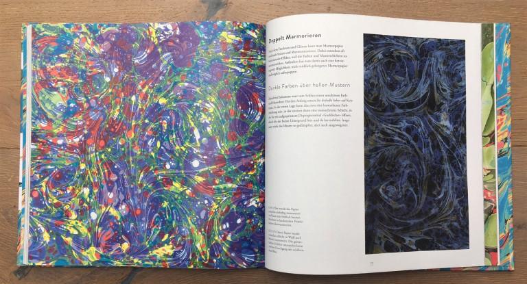 Haupt Verlag, Lucy McGrath, Papier marmorieren S. 110 111