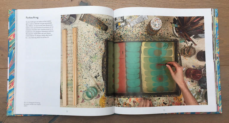 Haupt Verlag, Lucy McGrath, Papier marmorieren S. 52 53