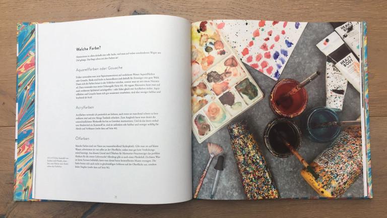 Haupt Verlag, Lucy McGrath, Papier marmorieren S. 26 27