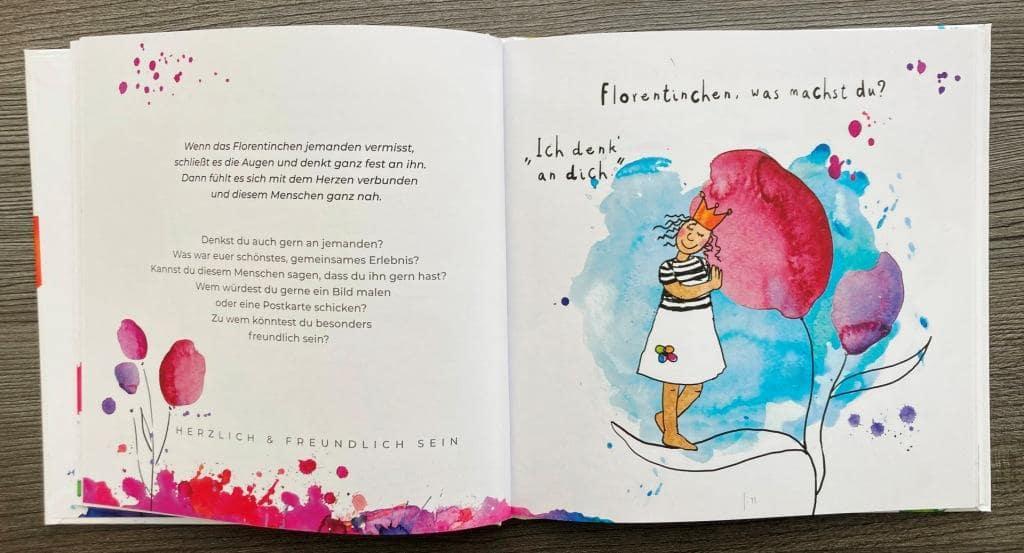 Florentinchen und das Glück Buchseiten 10 11