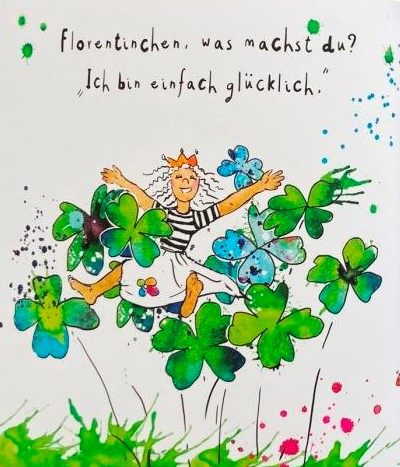 Florentinchen und das Glück Illustration S. 18 19