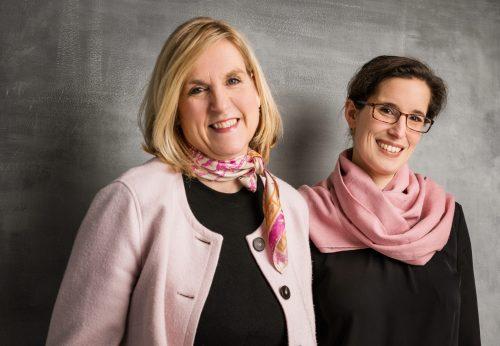 Britta Sopp und Tina Bungeroth von KUNSTschön